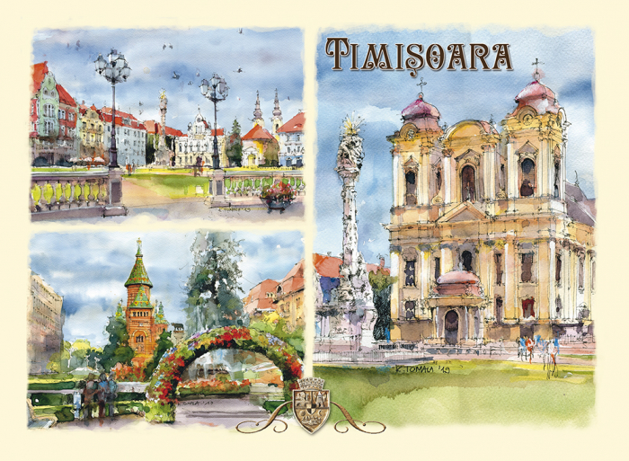 Carte postala Timisoara 7 0