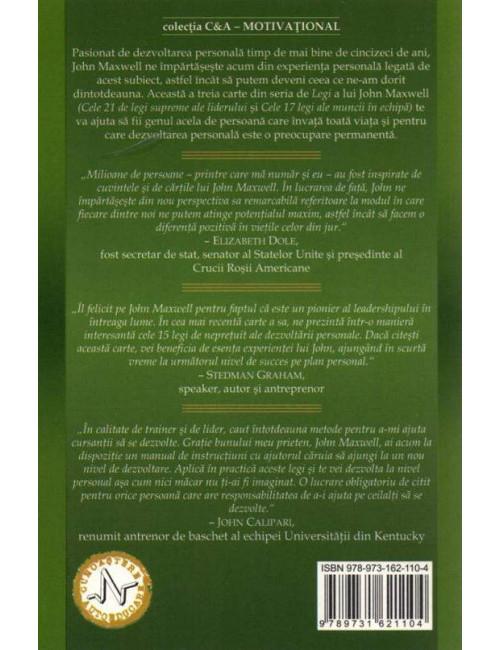 Cele 15 Legi supreme ale dezvoltarii personale 1