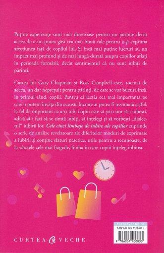 Cele cinci limbaje de iubire ale copiilor 1