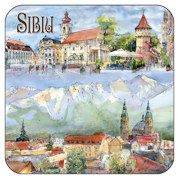 Suport pahar Sibiu 4 0
