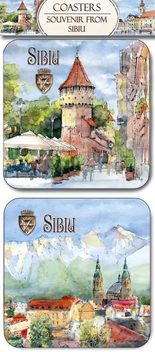 Suport pahar set Sibiu 0