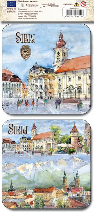Suport pahar set Sibiu 1