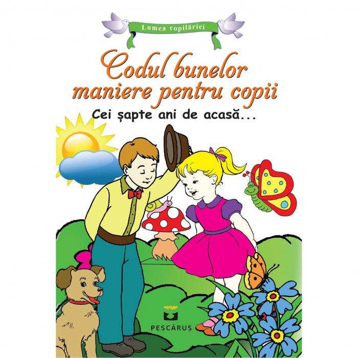 Codul bunelor maniere pentru copii 0