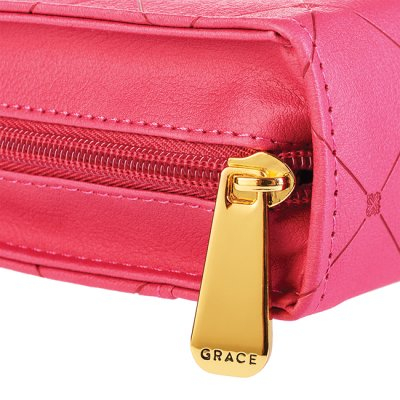 Cross - Pink - Large - LuxLeather [2]