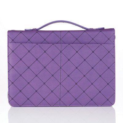 Cross - Purple - Medium - LuxLeather [2]