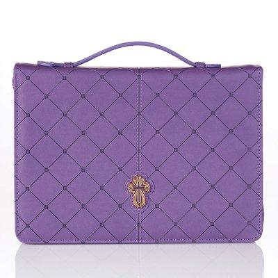 Cross - Purple - Medium - LuxLeather [1]