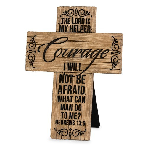 Cruce - Courage (Wood Grain Crosses) 0