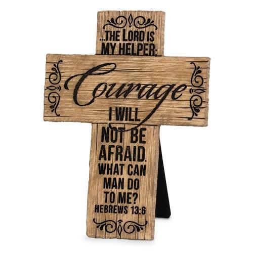 Cruce - Courage (Wood Grain Crosses) [0]