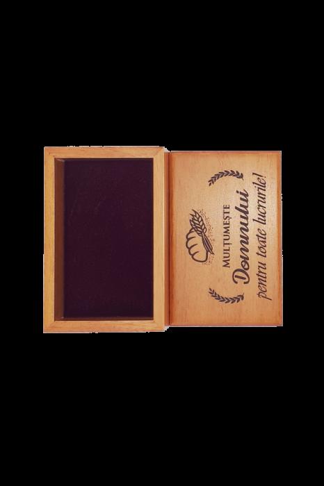 Cutiuță din lemn - Mulțumește Domnului pentru toate lucrurile! - BEP4-07R 1