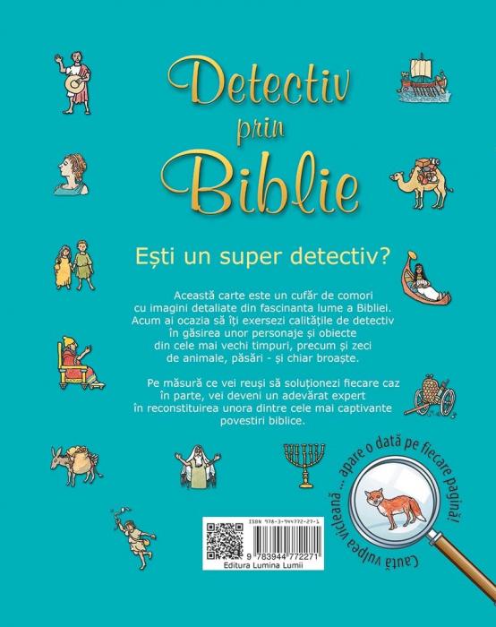 Detectiv prin Biblie. Cartea detectivului expert 1