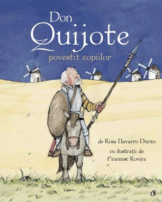 Don Quijote povestit copiilor 0