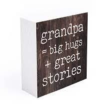 Grandpa = big hugs + great stories [3]