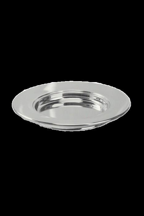 Farfurie pentru paine - MODEL 1 - argintiu lucios 0