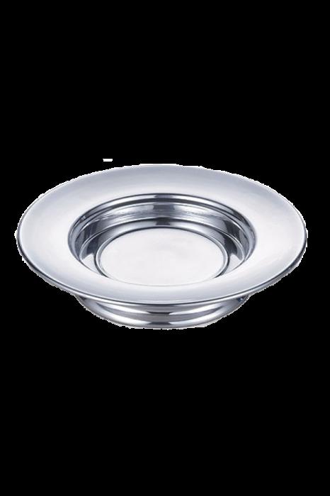 Farfurie pentru paine - MODEL 2 - argintiu lucios 0