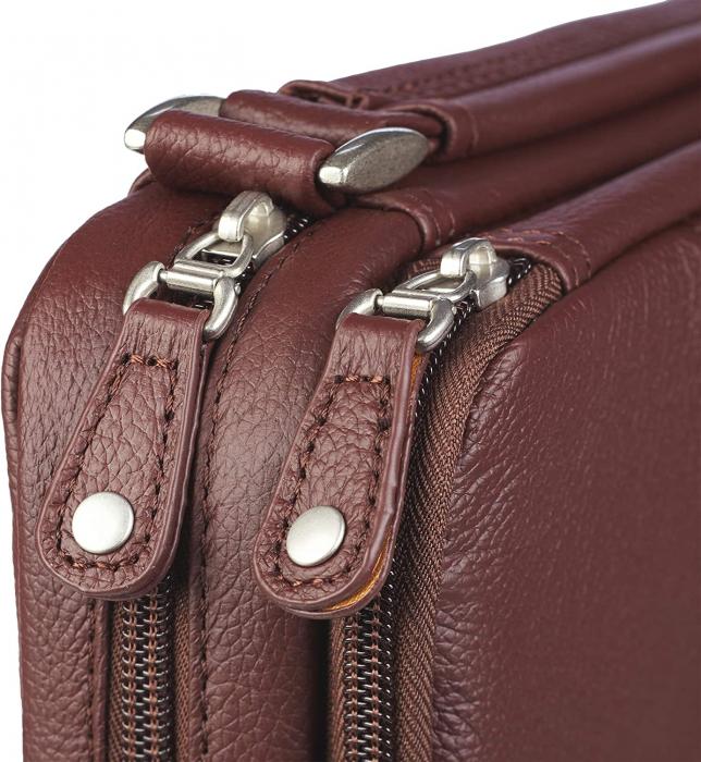 Fish - Dark brown - Full grain leather [3]