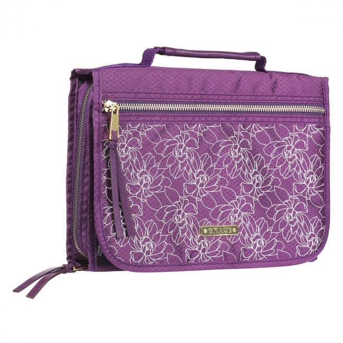 Grace Purple Tri-fold Organizer [3]