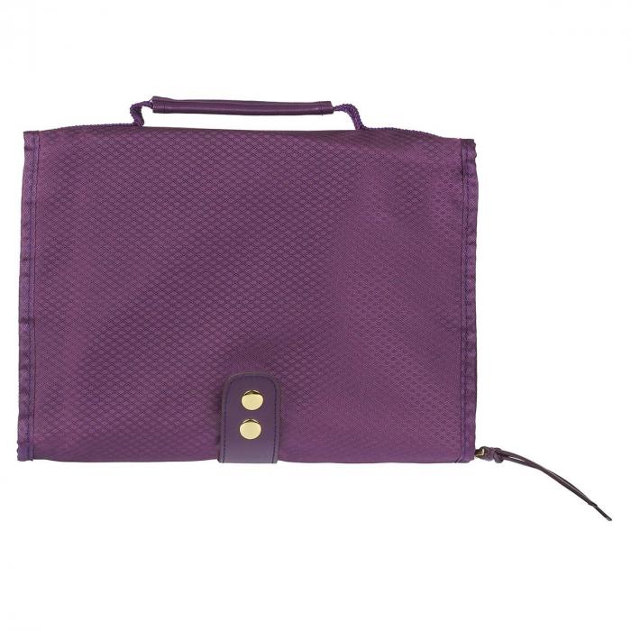 Grace Purple Tri-fold Organizer [1]