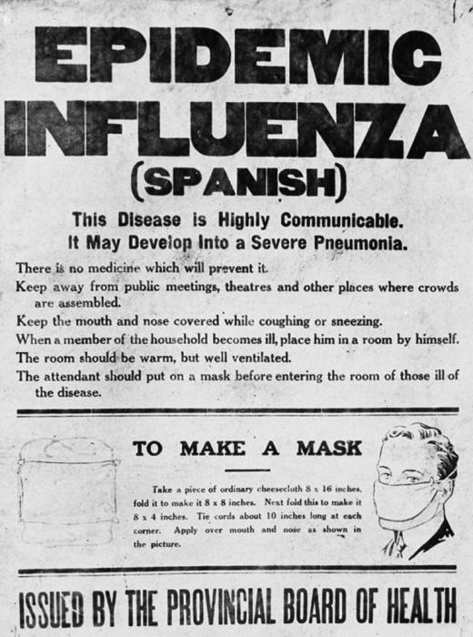Gripa spaniola din 1918. Pandemia care a schimbat lumea [1]
