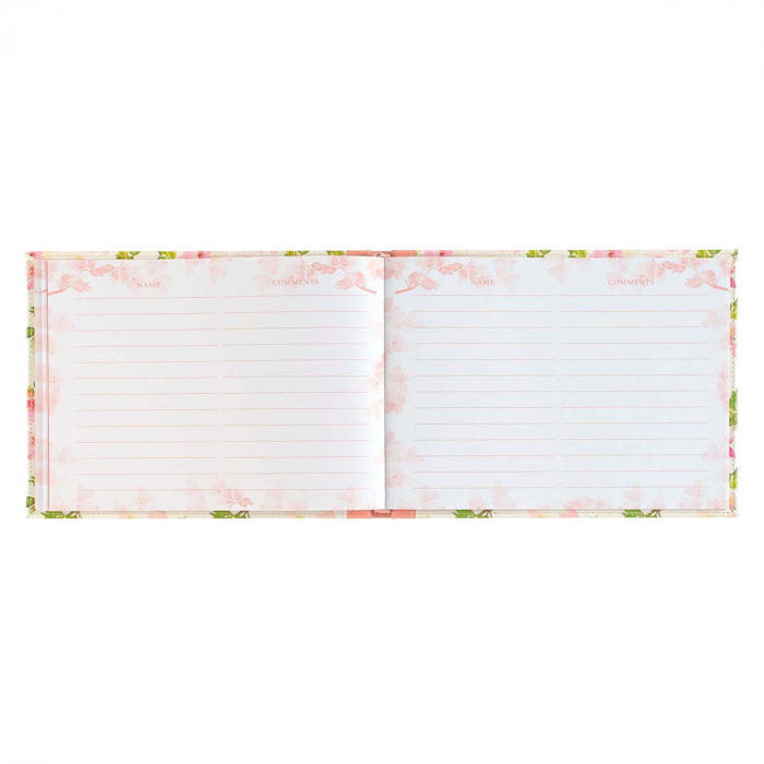 Floral Medium Pink Faux Leather [5]