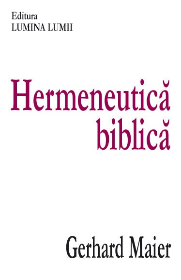 Hermeneutica biblica 0