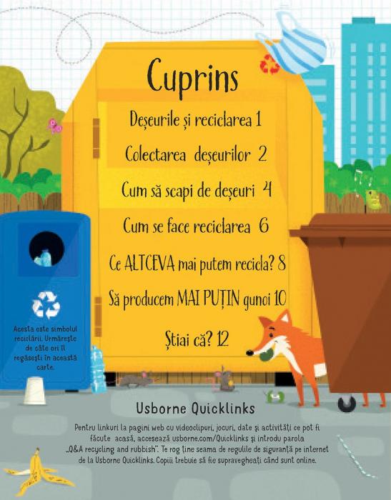 Intrebari si raspunsuri despre reciclare si deseuri (Usborne) [1]