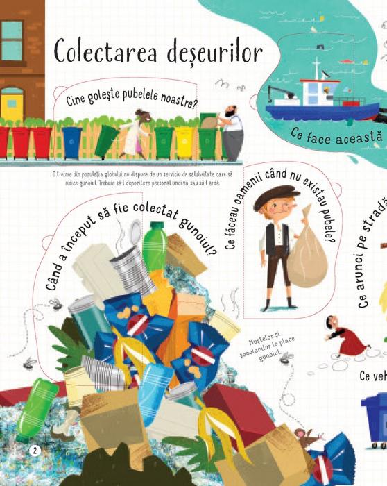 Intrebari si raspunsuri despre reciclare si deseuri (Usborne) [3]