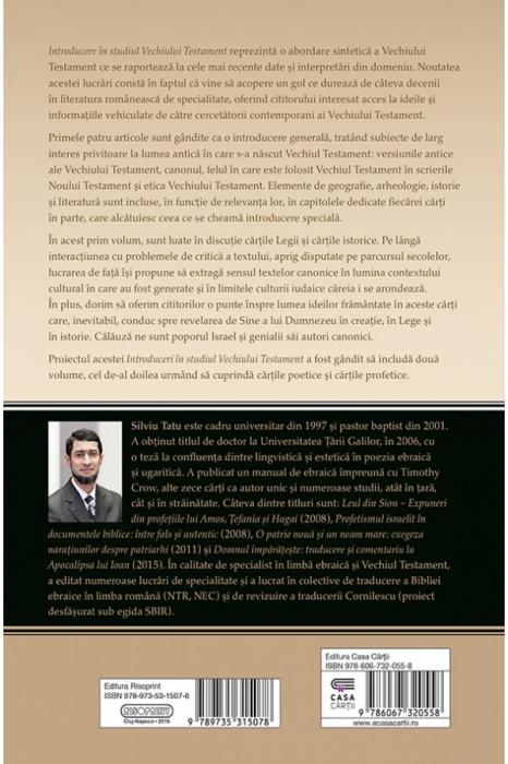 Introducere in studiul Vechiului Testament. Pentateuhul si cartile istorice 1