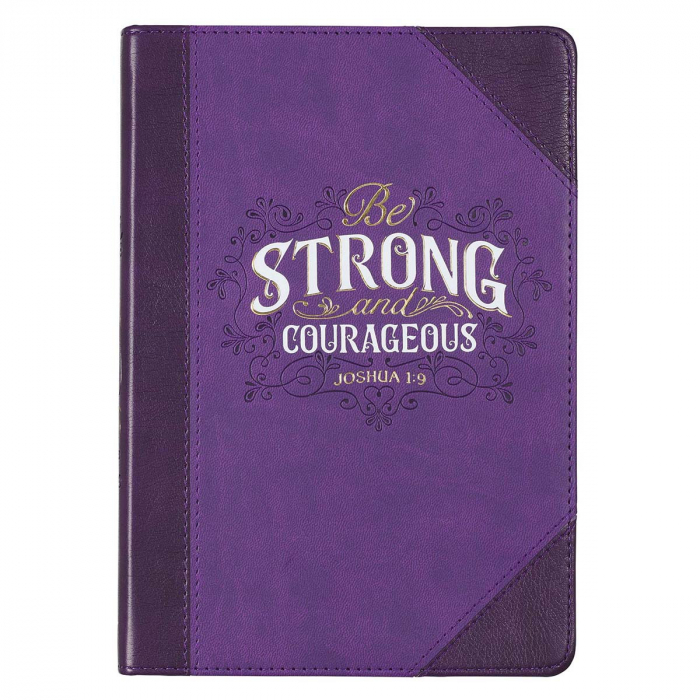 Strong & Courageous - 336 lined pages [0]
