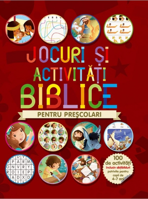 Jocuri si activitati biblice - pentru prescolari 0
