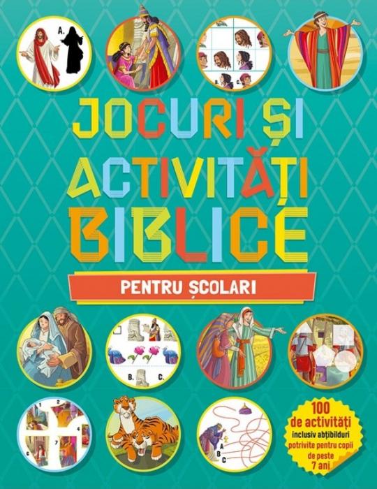 Jocuri si activitati biblice - pentru scolari 0