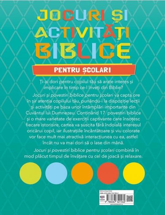 Jocuri si activitati biblice - pentru scolari 1