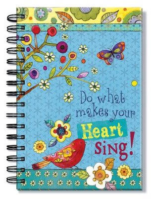Jurnal cu spirala - Do What Makes Your Heart Sing 0
