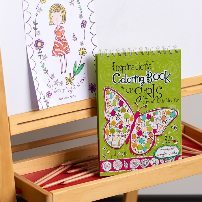 Inspirational Coloring Book for Girls [5]