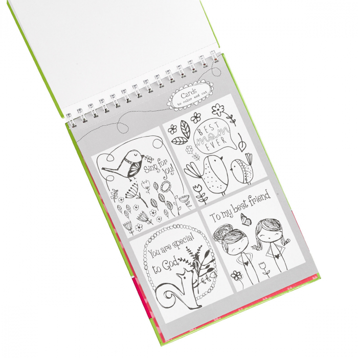Inspirational Coloring Book for Girls [6]