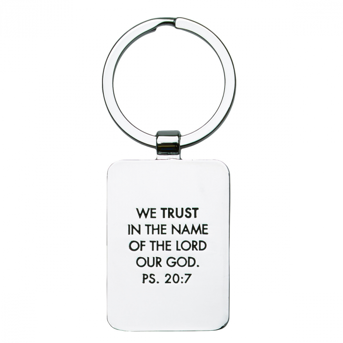 Keep calm and trust God - Red [1]