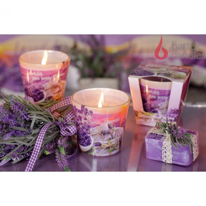 Lumanare aromatica - Lavender Soap 2