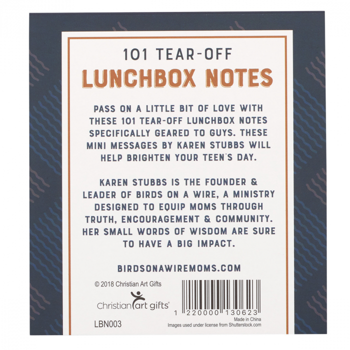 Lunchbox notes for guys - 101 sheets [1]