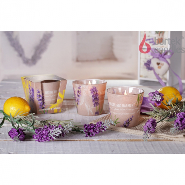 Lumanare parfumata - LAVENDER & LEMON 2