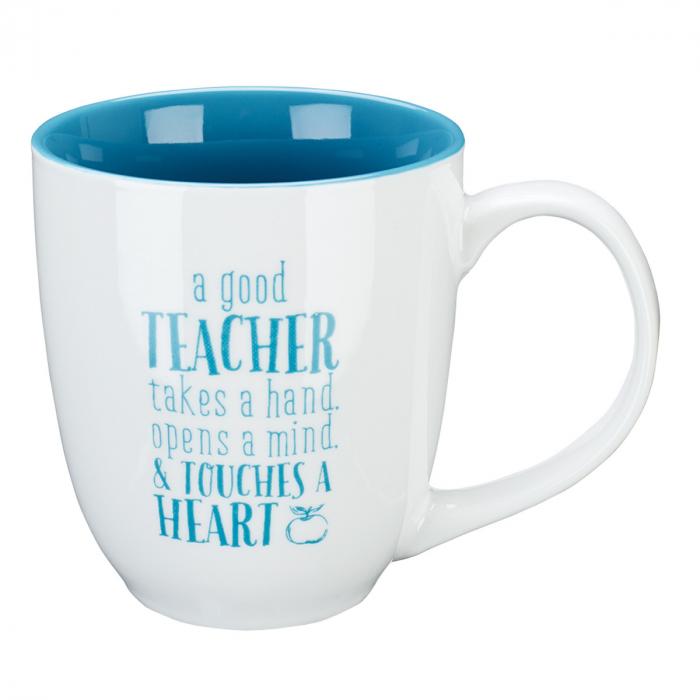 A good teacher takes a hand [0]