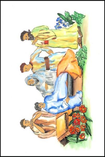 Oameni din Biblie - scolari editia BILINGVA 3
