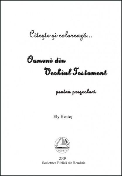 Oameni din Vechiul Testament - povestiri pentru prescolari 1