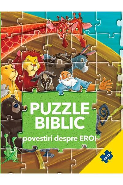 Puzzle biblic. Povestiri despre eroi 0