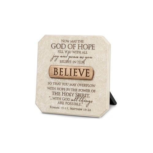 Mini placa - Believe 0
