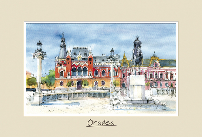 Tablou mic Oradea 2 - 10 x 15 cm 0