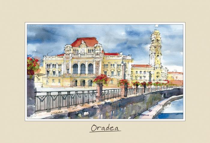 Tablou mic Oradea 3 - 10 x 15 cm 0