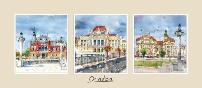 Tablou triptic Oradea 0
