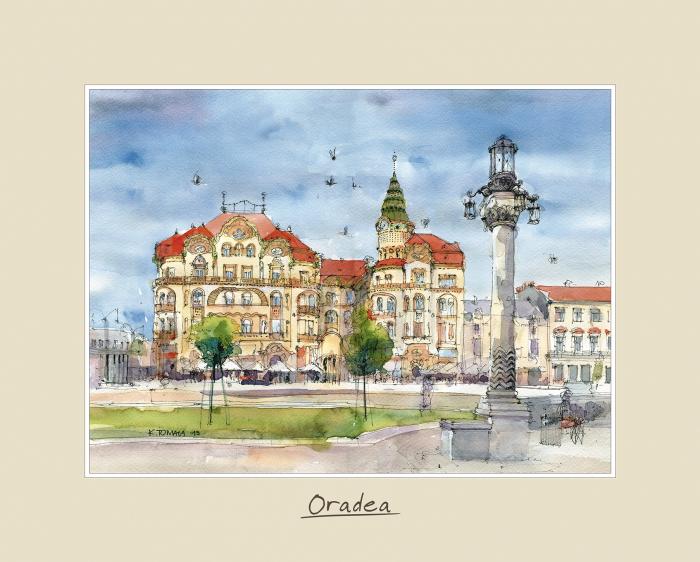 Tablou mare Oradea 1 - 24 x 30 cm 0