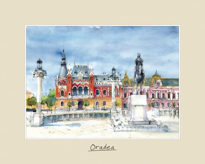 Tablou mare Oradea 2 - 24 x 30 cm 0