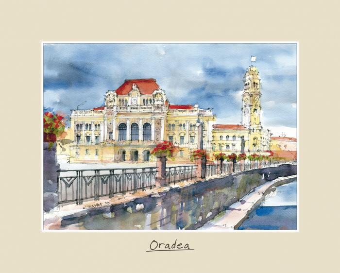Tablou mare Oradea 3 - 24 x 30 cm 0