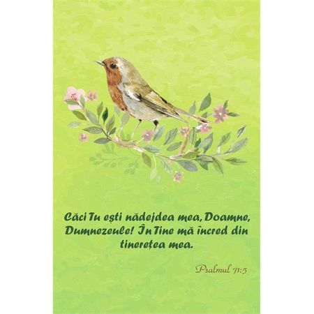 Carnetel - Psalmul 71:5 0